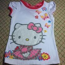 Hello Kitty Tee Top Shirt Euc 5t 5 Photo