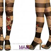 Hello Kitty Tights - Sanrio Avantgarde Fashion Stockings From Japan Photo