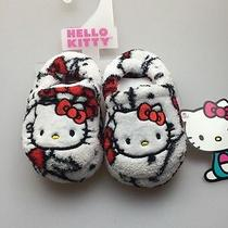 Hello Kitty  Toodler Girls Bedroom Slippers Brand New Size 5/6 Vey Cute Photo