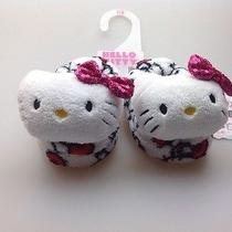 Hello Kitty  Toodler Girls Bedroom Slippers Brand New Size 7/8 Vey Cute Photo