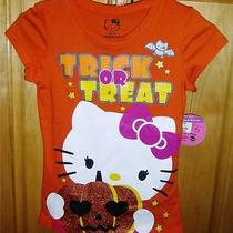 Hello Kitty Top Size 7-8 Halloween Design Nwt Photo