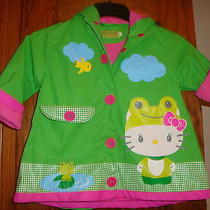 Hello Kitty Western Chief Rain Coat Jacket  Girls Size 2t Adorable Photo