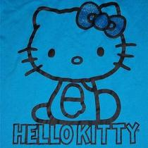 Hello Kitty Womens Blue Nightgown Top Size Medium Very Nice  Free Shipping Photo