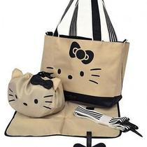 Hello Kitty X Hallmark Mother Tote Bag Pouch Seat Set Sanrio From Japan D4022 Photo