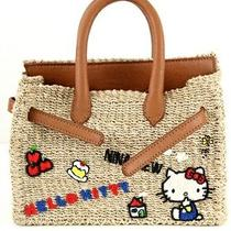 Hello Kitty X Nina Mew Mini Basket Tote Bag Handbag Purse Sanrio Japan P/o T3315 Photo
