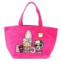Hello Kitty X Ouiayano Ruban Tote Bag Handbag Purse Surf Sanrio Japan T3316 Photo