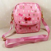 Hellokitty  Messenger Shoulder Camera Bag for Canon Power Shot Sx30is  New Pink Photo