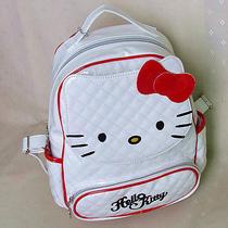Hellokitty White Backpacks School Book  Bag  2014 New Pu Bow Photo