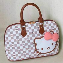 Hellokitty Zipper Handbag Tote Shoulder Bag 2015  New Pu Bow  Photo