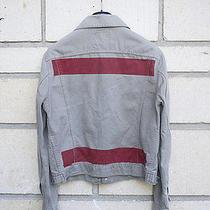 Helmut Lang 1996 Vintage Painted Denim Jacket Photo