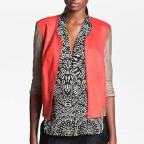 Helmut Lang Glossy Twill Bomber Jacket (M) 725 Photo