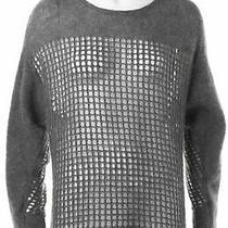 Helmut Lang Gray Sweater Sz S 617836 Photo