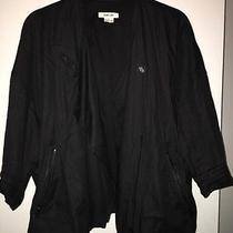 Helmut Lang Lacquered Overlap Jacket Sz M Never Worn Photo