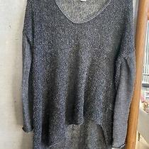 Helmut Lang Net a Porter Asymmetrical Sweater Shirt Pullover Top Small Photo