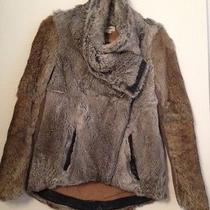 Helmut Lang Rabbit Fur Jacket Size Petite Photo
