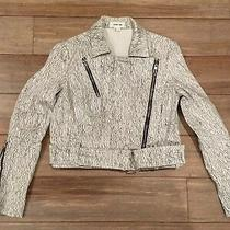 Helmut Lang Riders Cropped Jacket Size Small Photo