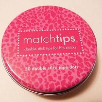 Her Look (Commando) Matchtips 50 Double Stick Tape Dots Latex-Free - Usa Photo