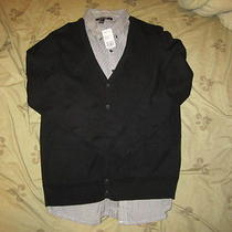 Heritage 21 Cardigan Button Up Size Large / Forever 21 Zara H M Old Navy Eagle Photo