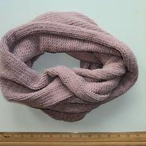 Heritage Infinity Loop Scarf Winter Soft Knit Blush Pink - Flash Sale Photo