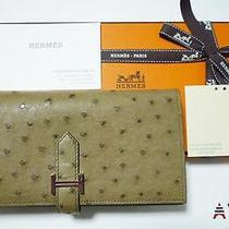 Hermes Beansufure Wallet Rare Photo