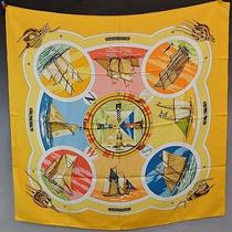 Hermes Belles Amures Silk Scarf Unused Photo