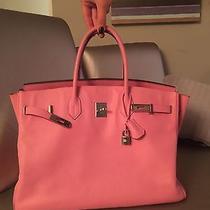 Hermes Birkin 40cm Pink Photo