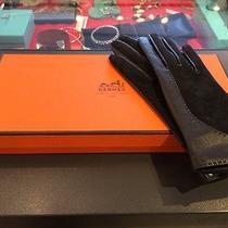 Hermes Black Gloves Photo