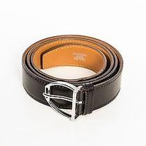 Hermes Black Leather Belt Photo