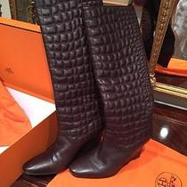 Hermes Boots Authentic With Box Photo