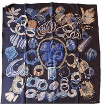 Hermes Bracelets De Lumiere Silk Scarf 90 Cm Photo