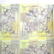 Hermes Carre 140 Brides Rebelles Harness Lectures Scarf Silk 100 Yellow no.72375 Photo