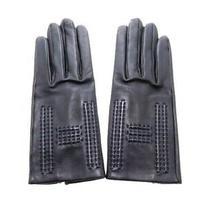 Hermes Clothing Gloves Globe Agnaud Navy no.7 With Box 472 no.7479 Photo