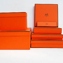 Hermes    Empty  Storage Box Lot 7 Boxes Photo