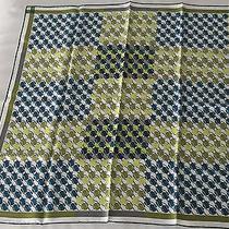 Hermes Geometric Silk Scarf Photo