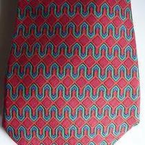 Hermes Geometric Silk Tie Photo