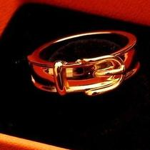 Hermes Gold Scarf Ring Photo
