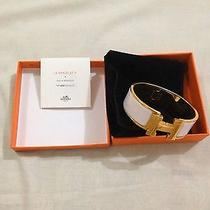Hermes H Clic Clac Enamel Bracelet Photo