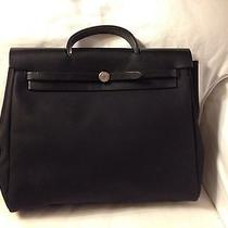Hermes Herbag Black Photo
