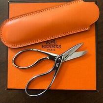 Hermes in the Pocket Scissors Orange Box Leather Case New in Box  Pristine Photo