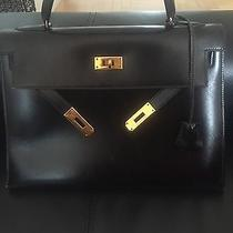 Hermes Kelly Vintage Black  Photo