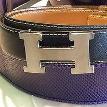 Hermes Leather Belt Photo