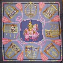 Hermes Les Muserolles 90cm Silk Scarf Near-Perfect Condition Photo