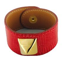 Hermes Medor  Red Lizard Bracelet Photo