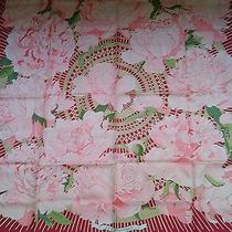 Hermes Paris Les Pivoines  Silk Scarf  Christine Vauzelles Photo