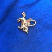 Hermes Pegasus Charm Gold  Photo