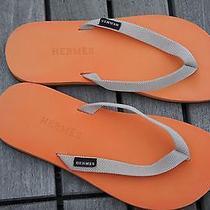 Hermes Sandals (Orange) 24.5 Cm Photo
