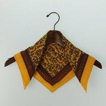 Hermes Scarf Cashmere Silk Yellow Total Pattern Photo