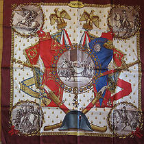 Hermes Scarf Napoleon Excellent Condition 100% Silk 90cm Carre  Photo