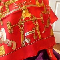 Hermes Scarf With Box and Booklet Photo