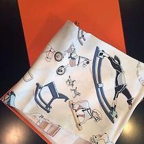 Hermes Silk Printed Scarf  Photo